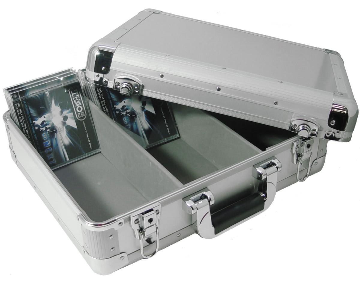 Zomo CD Case MK1 Silver