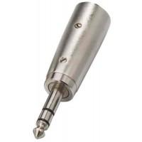Adapter NTA 119 XLR  M   Jack 6 3 mm sym