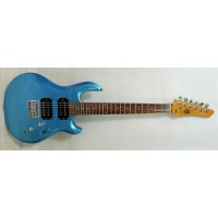 Aslin Dane Kahn Jr  Kids Guitar Blue inkl Bag