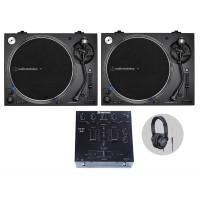 Audio Technica AT LP140XP Black DJ Komplettset
