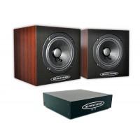 Auratone 5C Super Sound Cube Wood Set inkl  A2 30