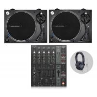Behringer Audio Technica LP140XP Bl  DJ Vinylset