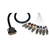 Contrik NMC08DF Multicore D Sub 25 auf 8x XLR f 3m