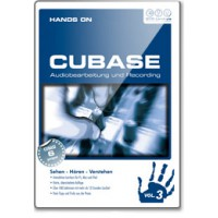 DVD Hands On Cubase Vol  3 Audio Essentials