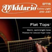 D Addario EFT15 Ac  Ph Bronze Semi Flat  010  047
