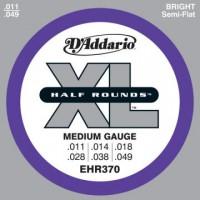 D Addario EHR370 El  Half Round Steel  011  049