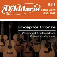 D Addario EJ15 Phosphor Bronze Wound  010    047