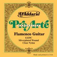 D Addario EJ25C Flamenco Pro Arte Clear Nylon