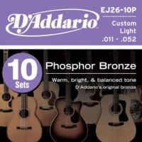 D Addario EJ26 10P Ac  Ph  Bronze  011   0 52 10er