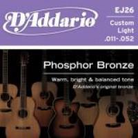 D Addario EJ26 Phosphor Bronze Wound  011    052