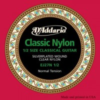 D Addario EJ27N 1 2 Cl  Student Clear Nylon Normal