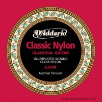 D Addario EJ27N Cl  Student Clear Nylon Normal
