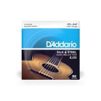 D Addario EJ35 Folk Silk   Steel 12 Strings