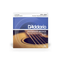 D Addario EJ37 Ac  Ph Bronze  012    054 12 String