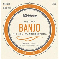 D Addario EJ63 Tenor Banjo 4Saiten Loop End