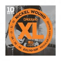 D Addario EXL110 10P Pack      10 S    tze EXL110