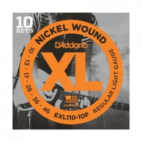 D Addario EXL110 10P Pack a 10 S    tze EXL110