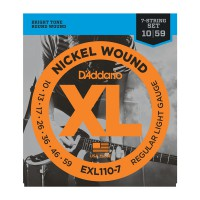 D Addario EXL110 7 7 String Nickel  010    059