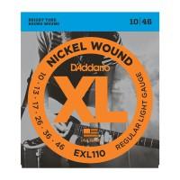 D Addario EXL110 Nickel Round Wound  010    046