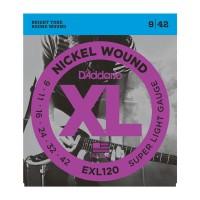 D Addario EXL120 Nickel Round Wound  009    042
