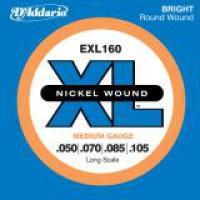 D Addario EXL160 Nickel Longscale  050    105