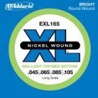 D Addario EXL165 Nickel Longscale  045    105