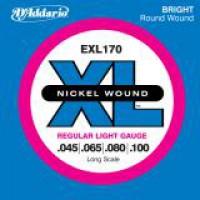 D Addario EXL170 Nickel Longscale  045    100