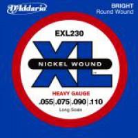 D Addario EXL230 Longscale Nickel  055    110