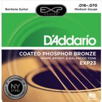 D Addario EXP23   17  70 Baritone String Set
