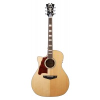 D Angelico Premier Acoustic Gramercy Natural left
