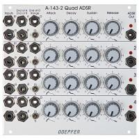 Doepfer A 143 2 Quad ADSR