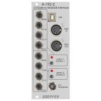 Doepfer A 192 2 Dual CV Gate to Midi USB Int