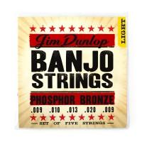 Dunlop DJP0920 Banjo 5 St   009    020 Phosphor Br