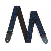 Dunlop Gurt D38 Nylon 50mm Flamb     Blue
