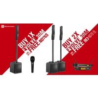 Electro Voice Evolve 30M Black MIC BACK PROMO