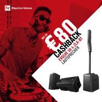 Electro Voice Evolve 50W Portable PA White CASHBAC