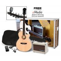 Epiphone PR 4 E Acoustic Electric Pack Natural