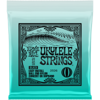 Ernie Ball Ukulele Strings Ball End Black 28 28