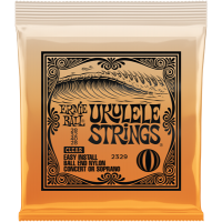 Ernie Ball Ukulele Strings Ball End Clear 28 28
