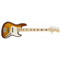 Fender American Elite Jazz Bass V Ash TBS MN