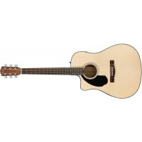 Fender CD 60SCE Left Hand Natural