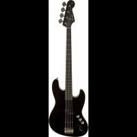 Fender Deluxe Aerodyne Jazz Bass Black RW Stained