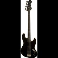 Fender Deluxe Aerodyne Jazz Bass Black RW Stained