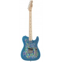 Fender Japan Classic 69 Tele Blue Flower