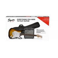 Fender Squier Stratocaster Pack Brown Sunburst