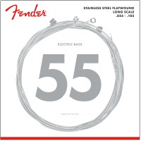 Fender Stainless Steel Flatwound 9050M  055  105