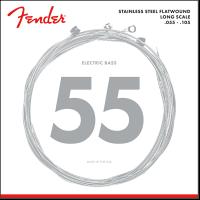 Fender Stainless Steel Flatwound 9050M  055  105