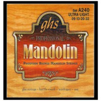 GHS Mandolin Set Phosphor Bronze  009  032 Ultra L