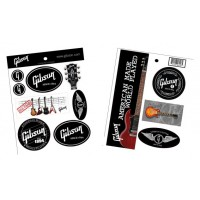 Gibson Sticker Fan Logo  12 Stk