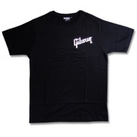Gibson T Shirt Logo klein Black L